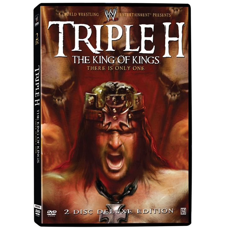 There is only one Triple H, and now for the first time ever, the King of Kings reflects on his storied WWE career with new exclusive interviews discussing his biggest matches, moments, and rivalries. More than a dozen bouts are presented in their entirety, including some never before released on DVD. 2 DISC set features Triple H's Greatest Matches including: King of the Ring June 8, 1997 King of the Ring Final Match Mankind vs. Hunter Hearst Helmsley No M…