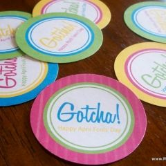 April Fools Gotcha Tags!