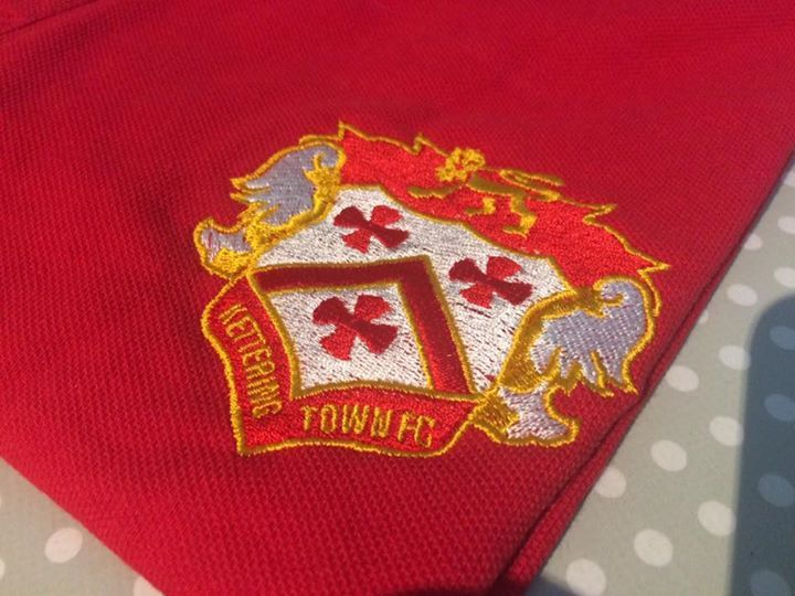 More embroidery completed for Kettering Town FC ahead of the new season!