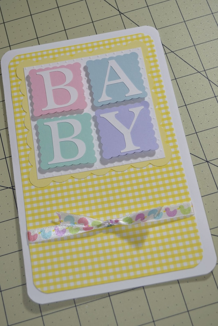 Created By Rosie: Baby Cards