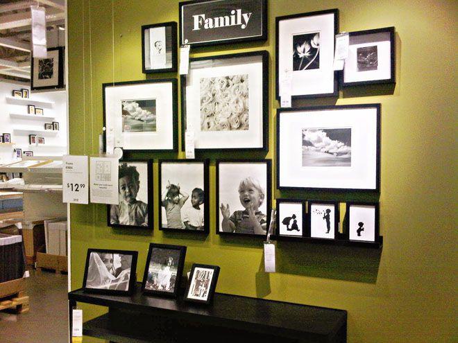 best 25 ikea gallery wall ideas on pinterest ikea white frames ikea photo frames and ikea frames