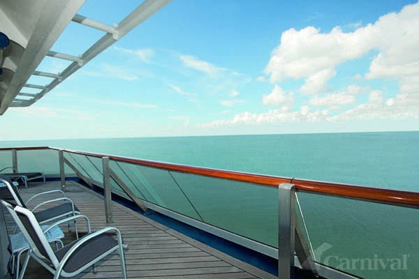 Carnival valor cabin balcony who wouldn 39 t like this for Balcony view on cruise