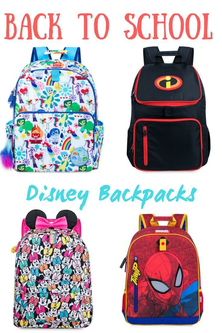 8babcc6719 Great Disney Backpacks for back to school.  Disney  backtoschool  ad   disneykids