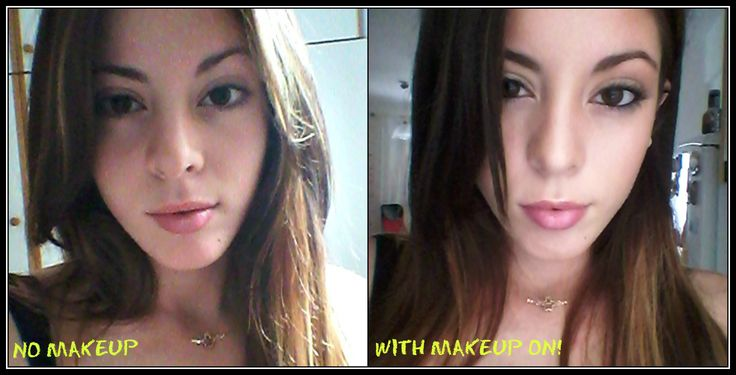 Feel beautiful even with or without makeup! http://beautytalkwithnikoletta.blogspot.gr/