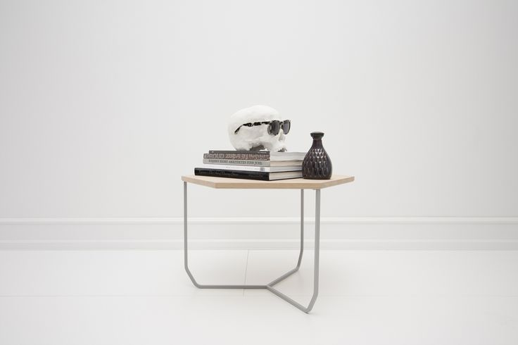 SIDE TABLE ABEL A40 GREY | OAK | FOXY POTATO