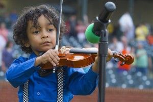 Child violin prodigy with sickle cell anemia.  This little guy needs a stem cell transplant!