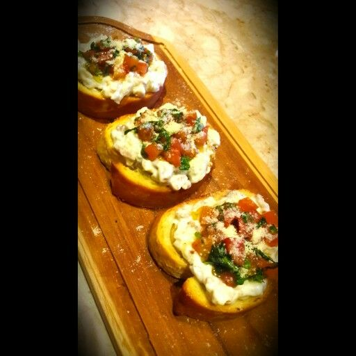 Bruschetta..  #yummy