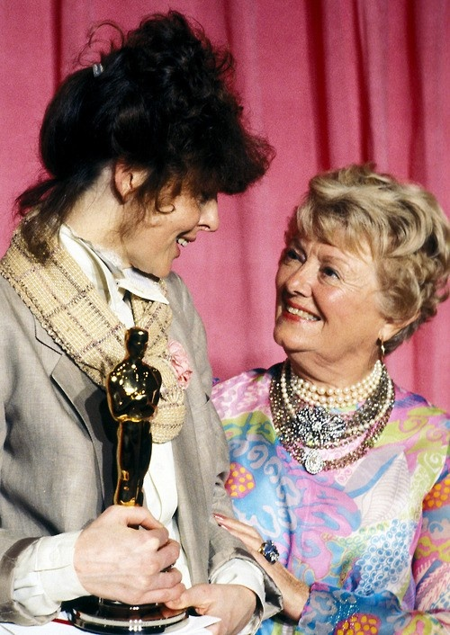 Diane Keaton and Janet Gaynor | ☆Academy Awards ...