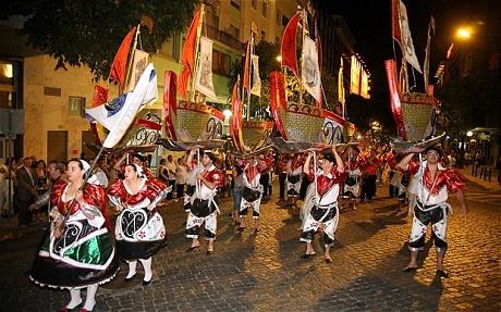 Lisbon attractions: what to see and do in summer - Telegraph, Marchas Populares, Festas de Lisboa, Avenida da Liberdade, Lisbon, Portugal