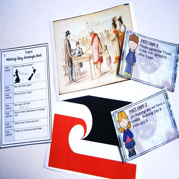 Junior Primary school treaty of waitangi activity. great for Treaty of Waitangi day an interactive activity
