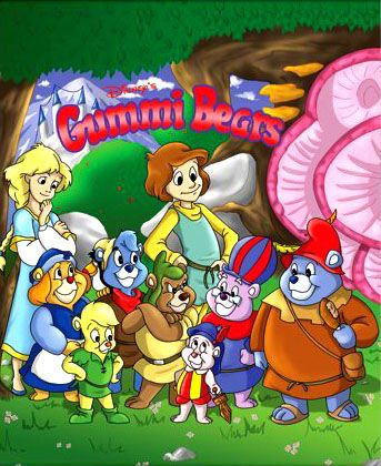 Gummi Bears. 80s cartoons-- I totally remember this cartoon from when I was a kid!