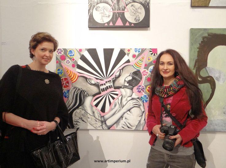 Młodzi Sztuką - Magdalena Woźniak i Jola Michalak