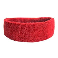 100% Cotton Thick Tower Sports Headband Tennis Badminton Basketball Sweatband Head Sweat Band Basketball Tennis Yoga Headbands