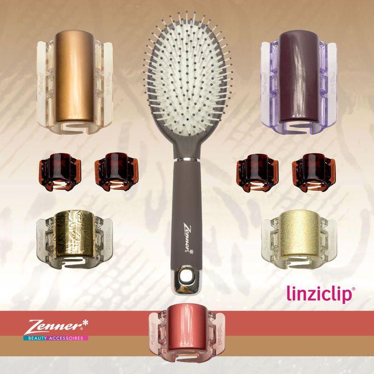 De Linziclip geeft extra grip in je haar. De clips zijn voorzien van verborgen dubbele scharnieren waardoor deze goed blijven zitten in je haar. De Linziclip ziet er elegant uit door de mooie cover. De Linzclips zijn verkrijgbaar in drie maten: mini, midi en maxi.