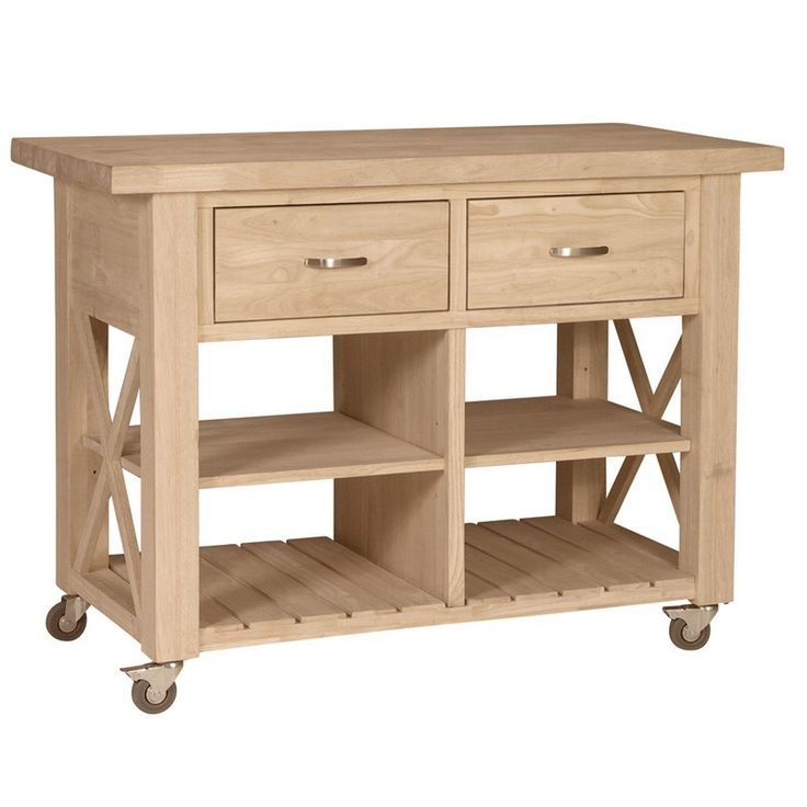 Cheap Diy Rolling Kitchen Island Ideas   Home Lately