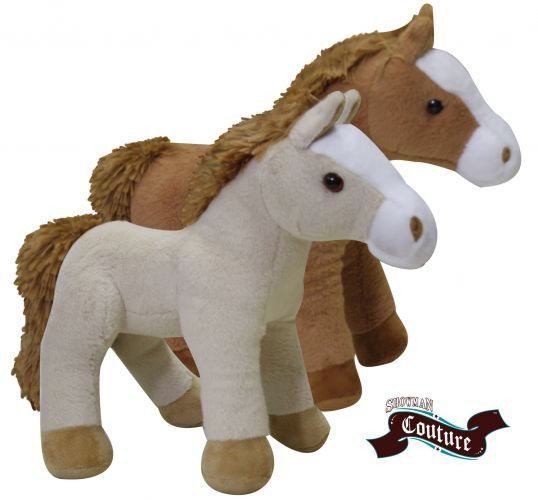 Showman Couture ™ Standing Plush Horse with Sound Effects.