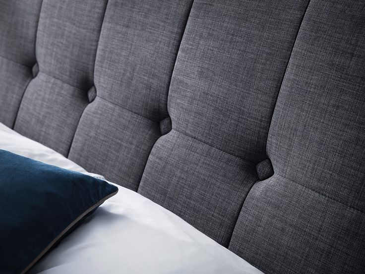Bonsoni Sutton High Headboard 5Ft King Size Bed Frame   A sprung slatted base ensures a good night's sleep and prolonged mattress life. Sutton is the perfect combination of stylish design and quality and offers fantastic value for money.   https://www.bonsoni.com/sutton-high-headboard-5ft-king-size-bed-frame