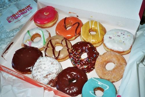 My childhood was spent living on Dunkin Donuts...Just had to share