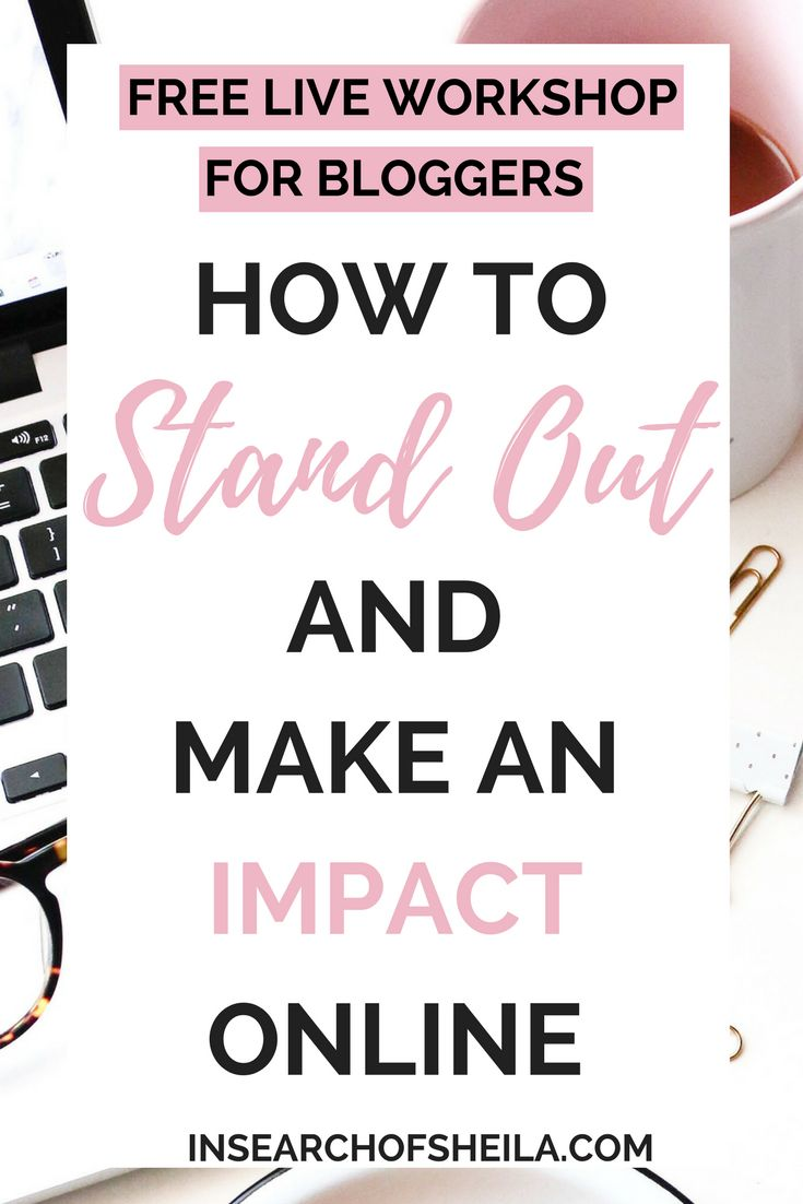 Are you struggling to grow your audience? Do you feel like all your hard work going into your blog posts is going unnoticed? Sign up for this free LIVE workshop to learn the best strategies to stand out and make an impact online! You will learn the key elements of memorable branding, how to find your blogging voice, and what your blog content needs to have to stand out and attract readers and brands. Hosted by Sheila of insearchofsheila.com and Katherine of slightlysavvy.com!