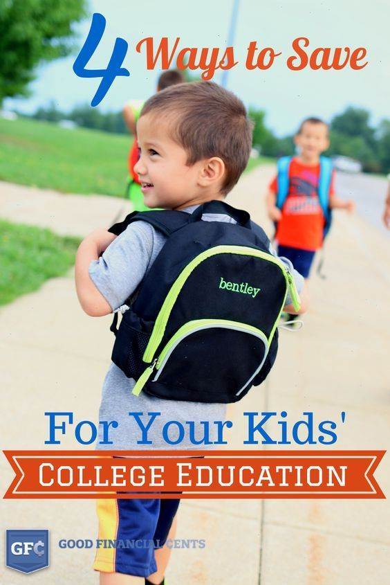 4 Ways to Save for Your Kids' College Education