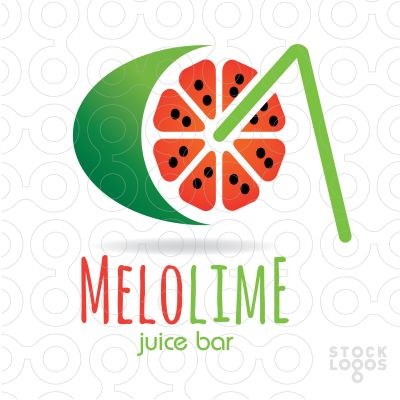 Logo: Melolime Juice Bar