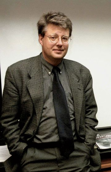 "Stieg Larsson, best-selling Swedish author of the Millenium trilogy (first of which was ""The Girl with the Dragon Tattoo)."
