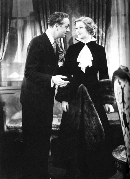 William Powell and Myrna Loy in Manhatten Melodrama