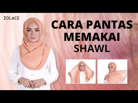 10 Simple Styles Shawl Tutorial - YouTube