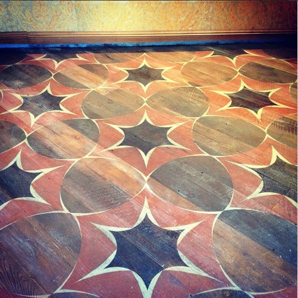custom floor design for the fortuny showroom at the nyc du0026d building design by malcolm
