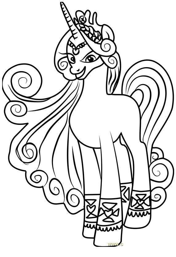 - My Little Pony Princess Amore Coloring My Little Pony Coloring, My Little  Pony Games, Pony Games
