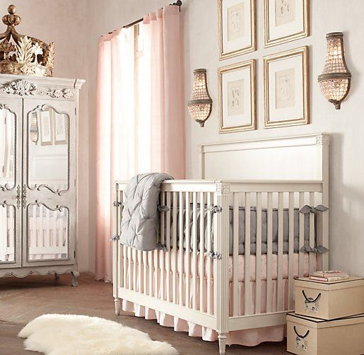 Emelia Conversion Crib | Cribs |Restoration Hardware Baby