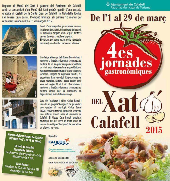 Jornades gastronòmiques del xató de Calafell (març 2015)