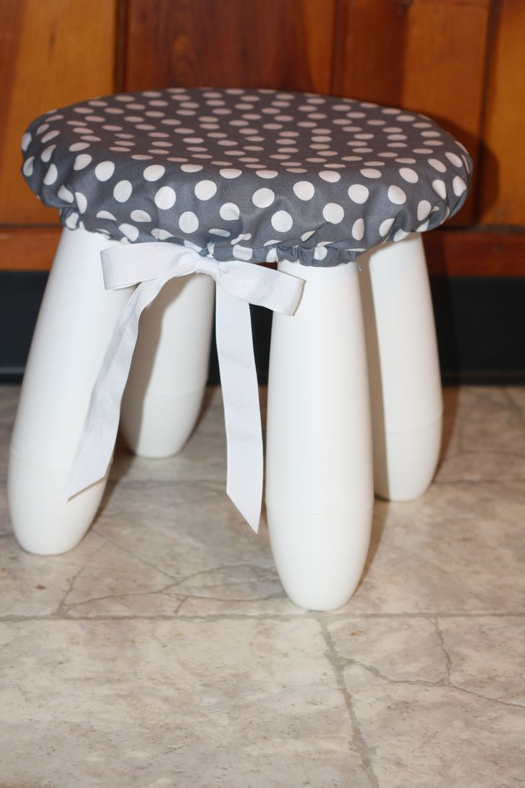 Stool cover for the ikea MAMMUT stool. I used this tutorial http://tenthavenuesouth.blogspot.com/2011/07/little-diy.html?m=1