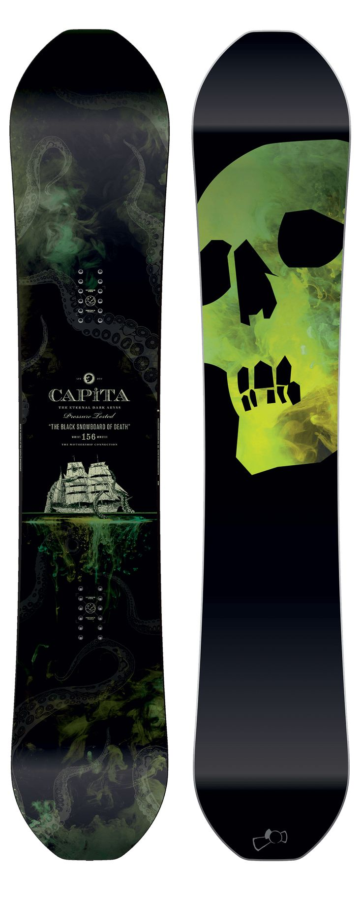 CAPiTA The Black Snowboard of Death Snowboard 2017