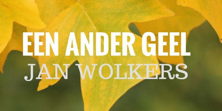 Blog over Jan Wolkers en zijn laatste schilderij #geel #yellow #leaves #art #janwolkers