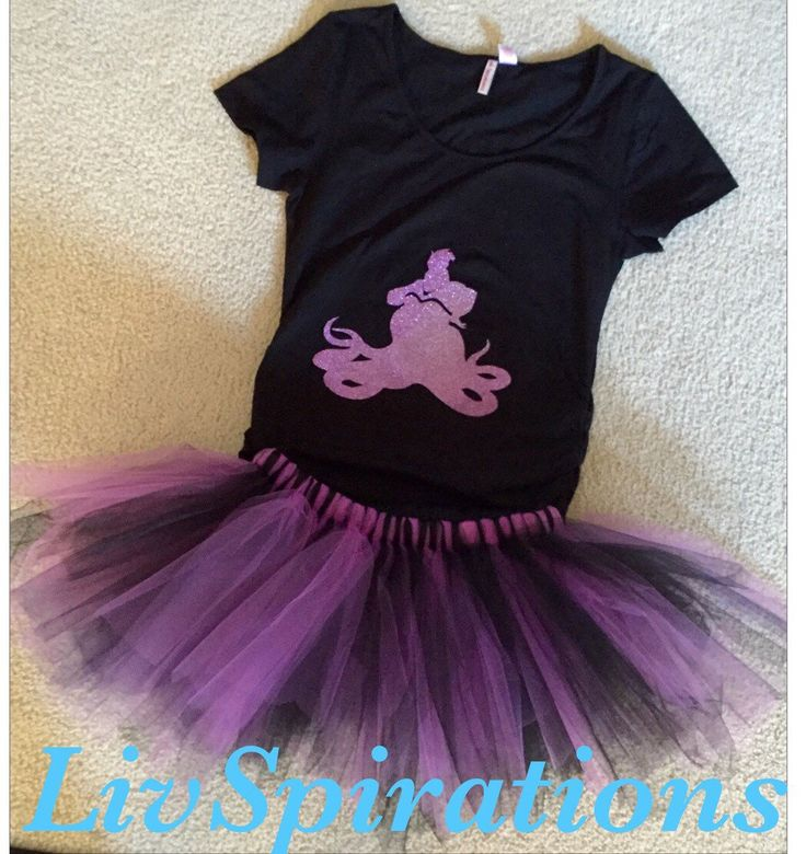 Adult Ursula Costume-Ursula-Disney-Disney Villians-Adult Costumes-Disney Costumes-Disney Characters-Ursula Shirt-Ursula Tutu-villians by LivSpirations on Etsy https://www.etsy.com/listing/250832460/adult-ursula-costume-ursula-disney