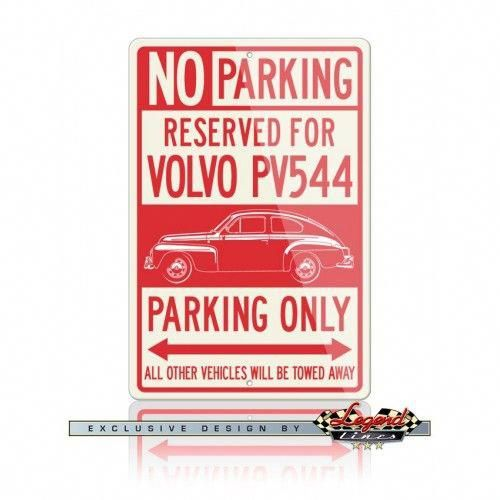 Volvo PV544 Coupe Reserved Parking Only Sign     Ideal for home, garage, office, workshop, den, bedroom, man cave, private roadway or anywhere you want a dedicated parking sign or  decoration.  Available in two sizes: 12″ X 18″ (305 X 457 mm) or 8″ X 12″ (203 X 305 mm)  Sweden  Swedish  Car  Vehicle  Automotive  Classic  Vintage  Muscle  Sport   Legend Lines Men  Man  Father  Husband  Dad  Son  Grandpa  Friend  Driver  Collector    Racer  Mechanic  Gift  C