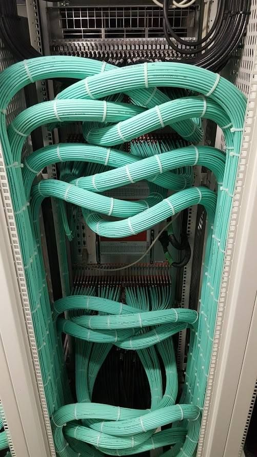 The great work on cabling networking - skillprogramming.com