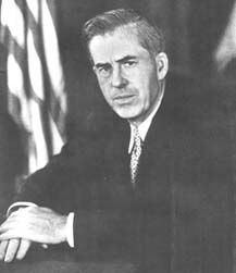 Iowa farmer Henry A. Wallace was very active in setting the stage for the 1st Green Revolution as US Secretary of Agriculture (1933-1940) and US Vice President (1940-45) | Credit: En Guardia, Vol. I, No. 9, 1942