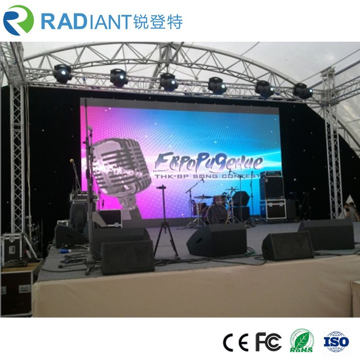 P4.81 full color hd 0.189inch 500*500mm above 6500nits advertising thin and light outdoor rental HD LED display for leasing