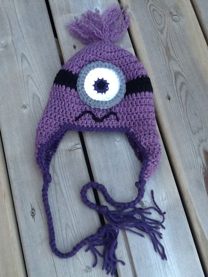 59 best Crochet minions images on Pinterest | Crochet minions, Filet ...
