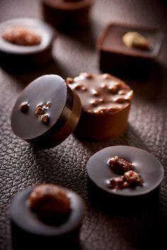 Praline chocolate confections praliné by Pascal Caffet