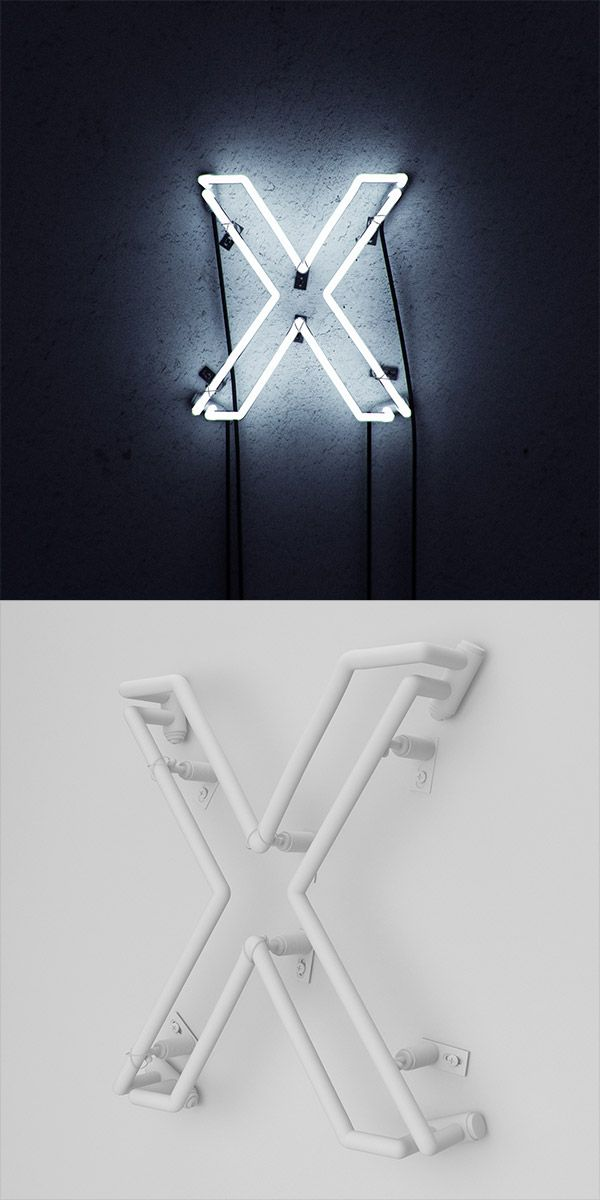 Showcase of Incredibly Realistic 3D Neon Sign Designs