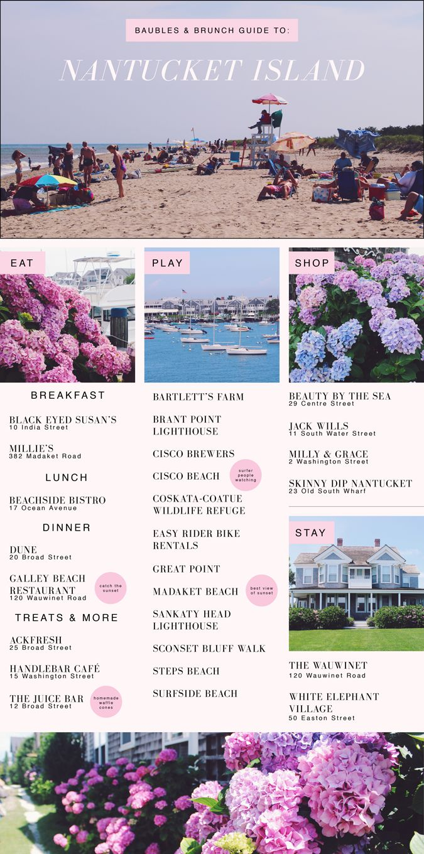 Nantucket Island Travel Diary » Baubles & Brunch
