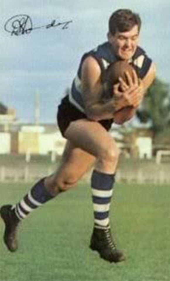 Doug Wade. Played 1961-1975. Games Geelong 208, North Melbourne 59. Premiership Geelong 1963. Coleman medals 1962, 1967, 1969, 1974.