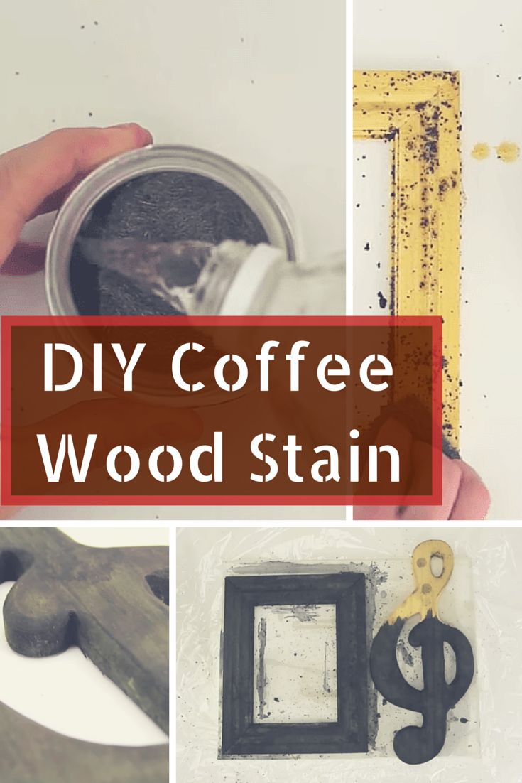 How to make a homemade wood stain using coffee - simple DIY project: http://www.thesawguy.com/homemade-stain-coffee/