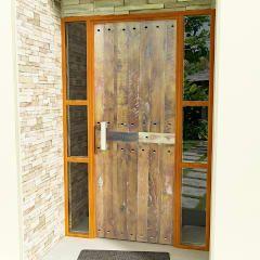 Portas e janelas rústicas por Ignisterra