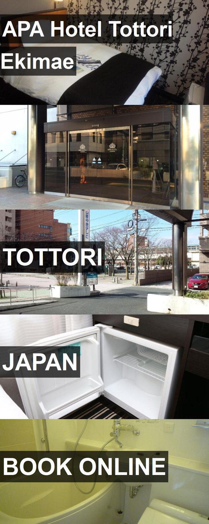 APA Hotel Tottori Ekimae in Tottori, Japan. For more information, photos, reviews and best prices please follow the link. #Japan #Tottori #travel #vacation #hotel