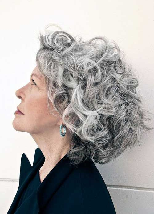 curly gray hair styles best 25 grey haircuts ideas on 8849