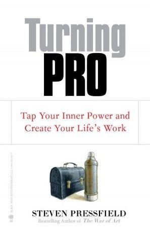 'Turning Pro' de Steven Pressfield #livros #criatividade #leiturascriativas